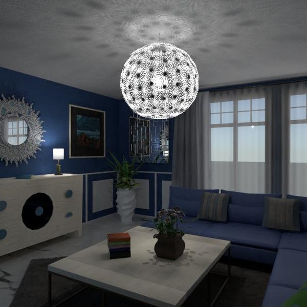 floorplans furniture decor living room lighting renovation 3d