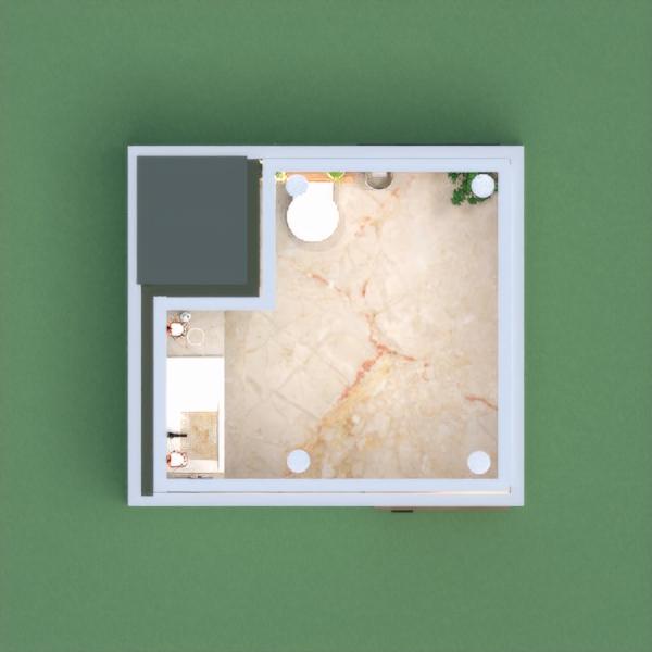 planos apartamento muebles decoración cuarto de baño arquitectura 3d