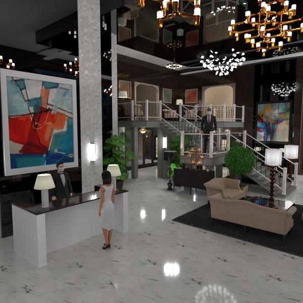 floorplans furniture decor architecture entryway 3d