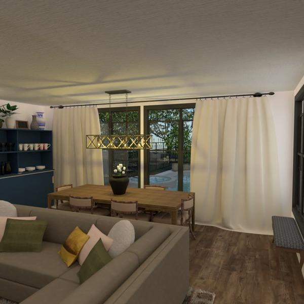 floorplans salle de bains chambre à coucher salon cuisine salle à manger 3d