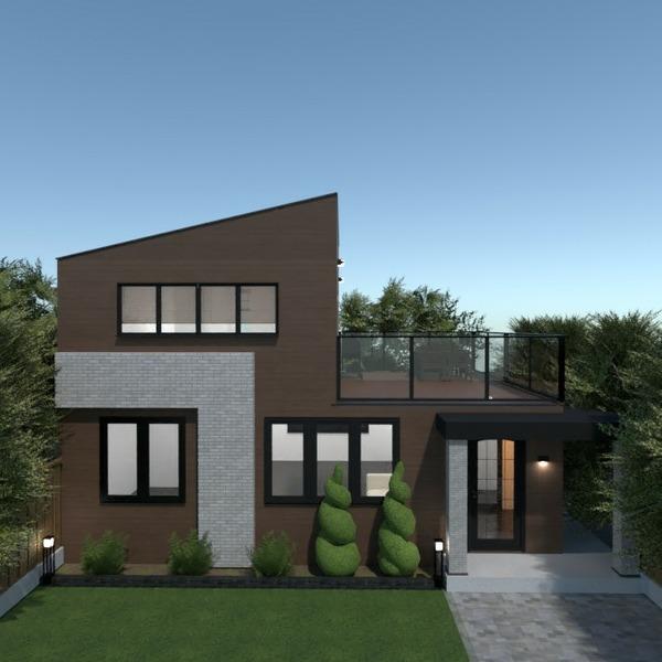 floorplans house outdoor landscape household architecture 3d