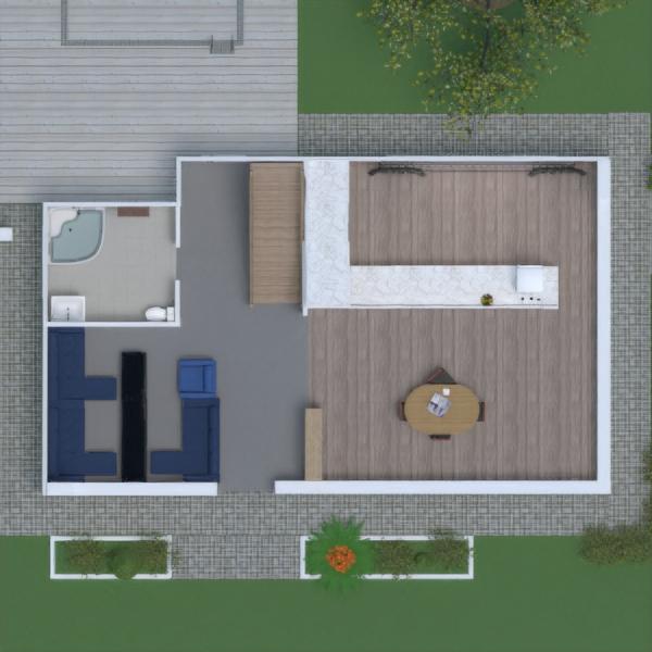 floorplans casa banheiro quarto quarto sala de jantar 3d
