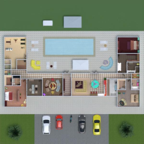 floorplans namas baldai dekoras pasidaryk pats vonia miegamasis svetainė virtuvė biuras аrchitektūra sandėliukas prieškambaris 3d