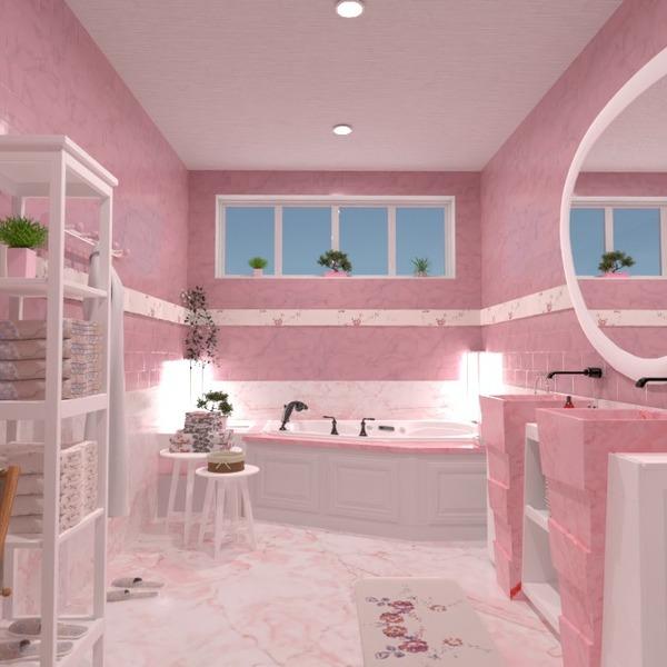 floorplans wystrój wnętrz łazienka oświetlenie 3d