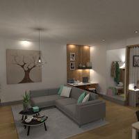floorplans apartamento varanda inferior mobílias decoração faça você mesmo banheiro quarto cozinha escritório iluminação cafeterias sala de jantar patamar 3d