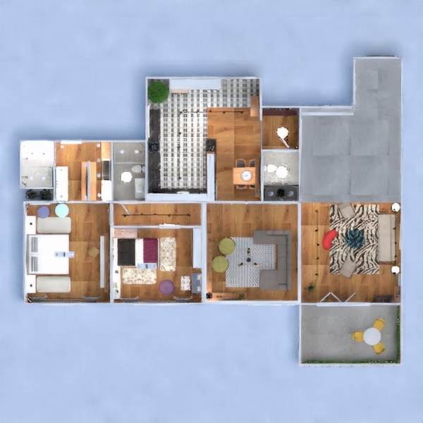 floorplans wohnung mobiliar dekor badezimmer schlafzimmer küche beleuchtung haushalt esszimmer architektur eingang 3d
