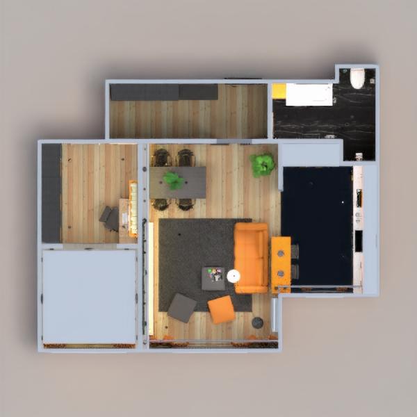 floorplans wohnung badezimmer schlafzimmer küche beleuchtung haushalt 3d