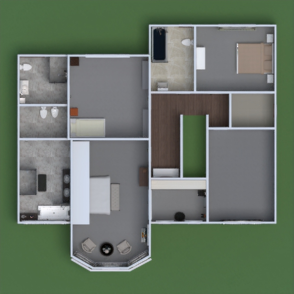 floorplans namas аrchitektūra prieškambaris 3d