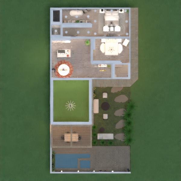 floorplans haus dekor outdoor beleuchtung architektur 3d