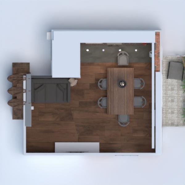 floorplans wohnung haus mobiliar dekor do-it-yourself wohnzimmer küche beleuchtung renovierung haushalt lagerraum, abstellraum studio 3d