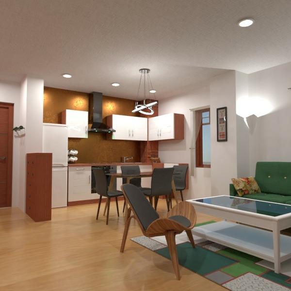 floorplans mobílias decoração quarto cozinha 3d