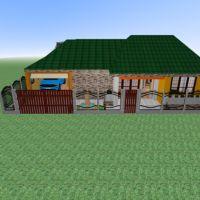 floorplans namas vonia miegamasis garažas virtuvė biuras valgomasis sandėliukas prieškambaris 3d