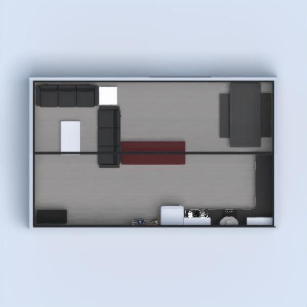 casa moderna y rustica