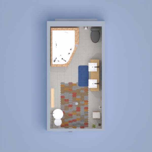 this a is a very small bathroom it is so nice.