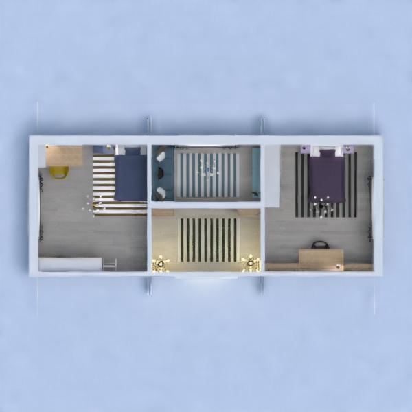 Mi proyecto de esta semana (ya se que no sigue la paleta de colores que indica), está diseñado para 2 hermanas adolescentes, que aman los libros, y son muy maduras. La sala común la he dedicado para ver la tele o si viene un invitado puede usar el sofá como cama. (PD: La puerta de la sala común no se porqué está así)