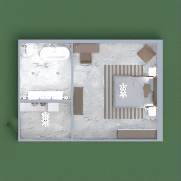 this is my luxury hotel room with a bathroom, in different shades of peach, brown and white. if u see this project and u like it, please vote and leave a comment with your page number.
