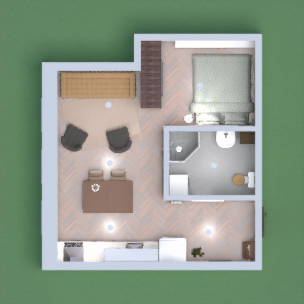 this is my small apartment in an old town - it has many different colours, barely matching, but small and cozy. please vote for me and leave your comment