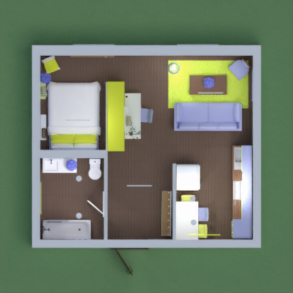This is my little apartment. I went for a calm scheme, hope you like it? stay safe everyone