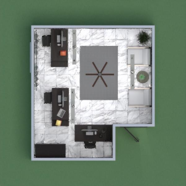 Black & White Simple Office