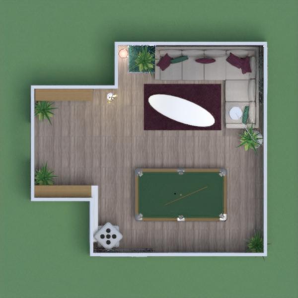 Elegant game room  By.Dalia Architect Engineer