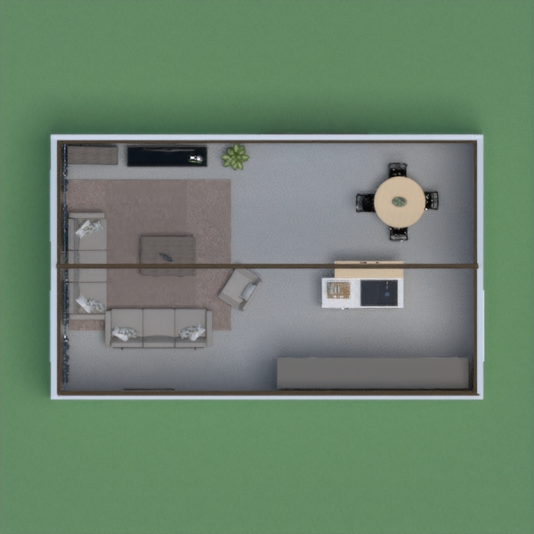 This house is small,has no bathroom  and bedroom !