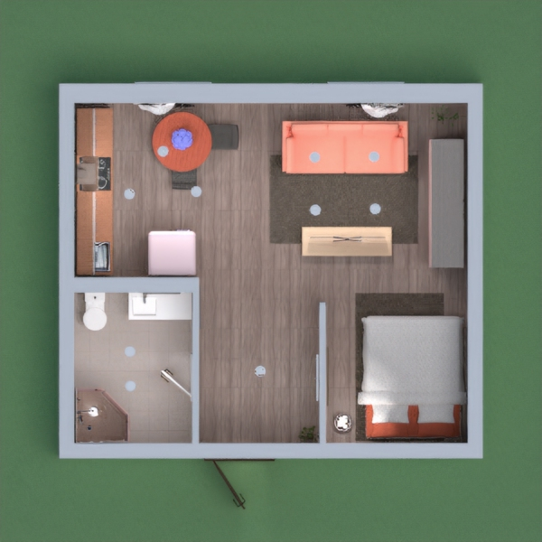This is my minimalist house project with a valentine theme ~