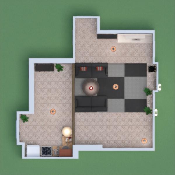 ini rumah orang kaya. karpetnya besar,pintunya banyak,lampunya besar