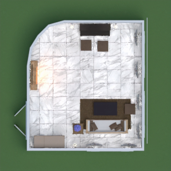PS: I did the project directly through the website on my cell phone, so it is not 100% the way I would goat.  the idea was to create a minimalist living room.