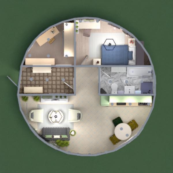 Привет всем! Круглый дом в современном  стиле .