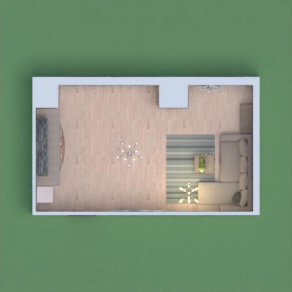 гостиная в серых тонах с камином