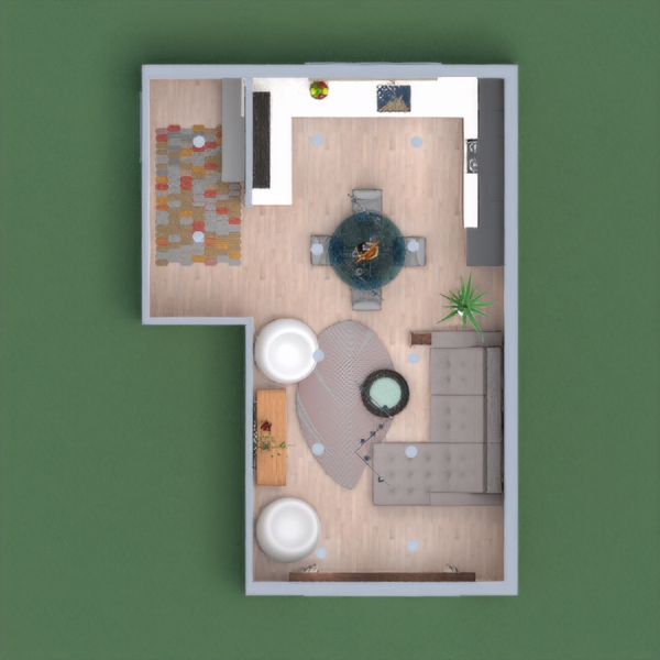 Spacious living room with kitchen. Please vote for me!