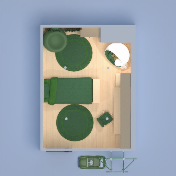 Hi! I hope you like my boys room! I made it for my little brother. His fav color is green so thats the color I went with. I hope you like my room. The colors are white and green. Please comment what you think!                                     Hermione