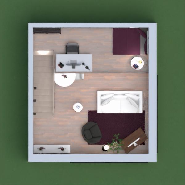 Espacio de trabajo funcional, moderno y espacioso. Diseño industrial con toques cálidos. Espero que os guste!! :)