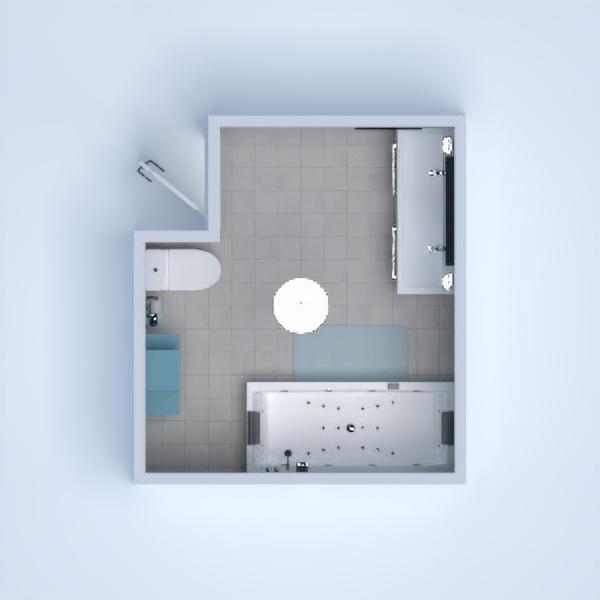 Голубая ванная (Blue bathroom)
