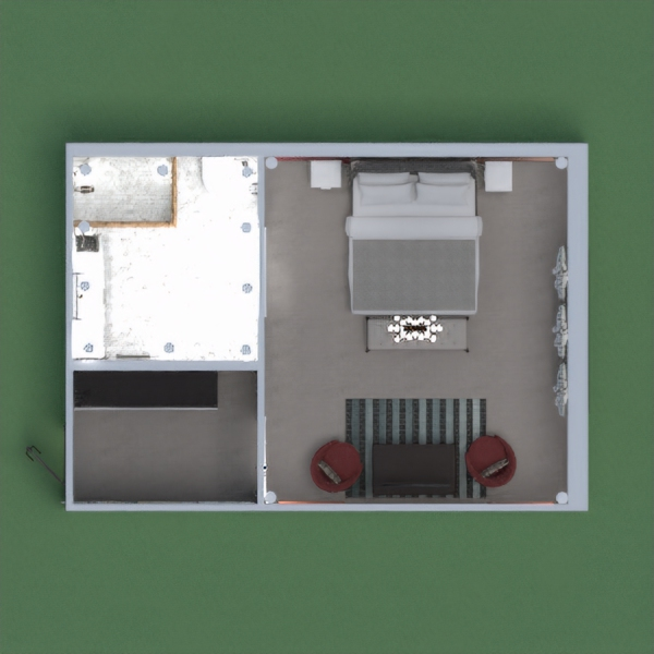 мой второй проект---интерьер гостиничного номера