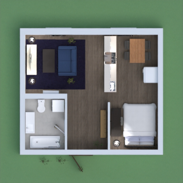 This is an appartment for a student, or a person that wants to ive somewhere for a limited time, I am sorry if there are some floating things, I did not mean it:) Please vote for me! Stay Safe:)