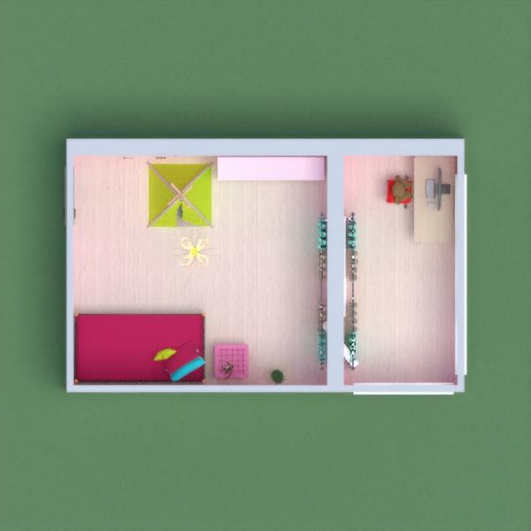 Спальная комната для девочки 4-18 лет.