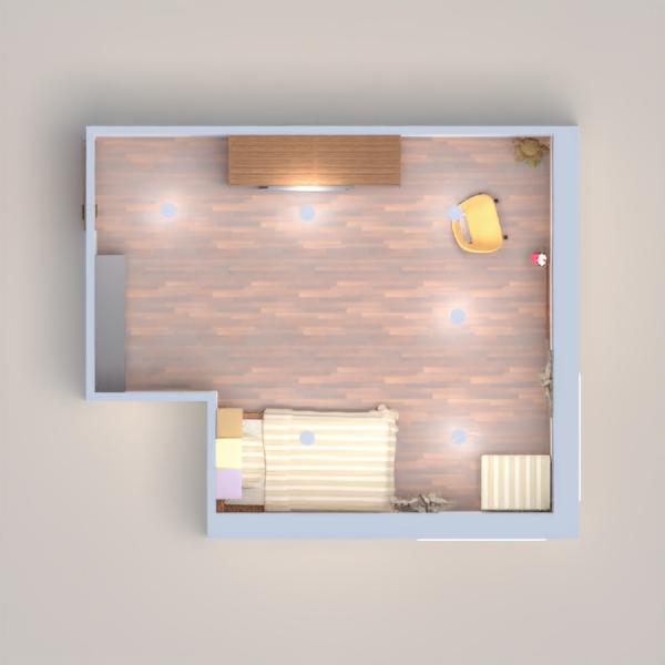 è una cameretta per una ragazzina di 11-15 anni. I colori sono classici e raffinati. I tipi di legno sono tutti abbinati. Ci sono due ampie finestre per illuminare da cima a fondo la stanza.