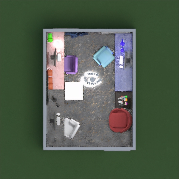 this is an office with 3 desks, and all of the desks are for the children,there is also a tv for when the kids have finished their homework. i tried to make it really good, i'm 9 and i hope you like it,