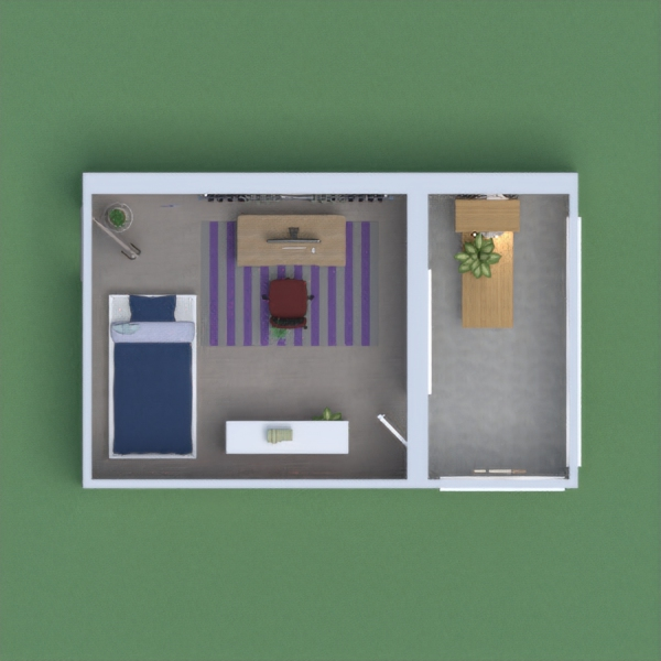 My project is designed for a teenager, not too complex, but also not too childish, and I think that this room would be appropriate for a young adult.