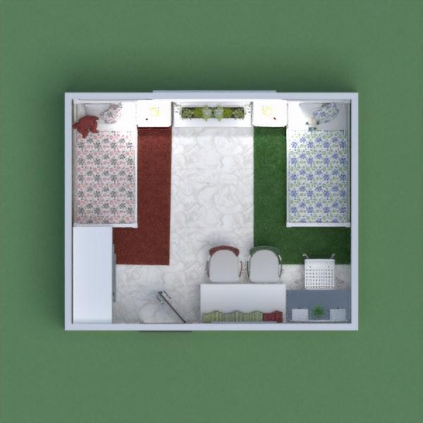 Twinny bedroom
