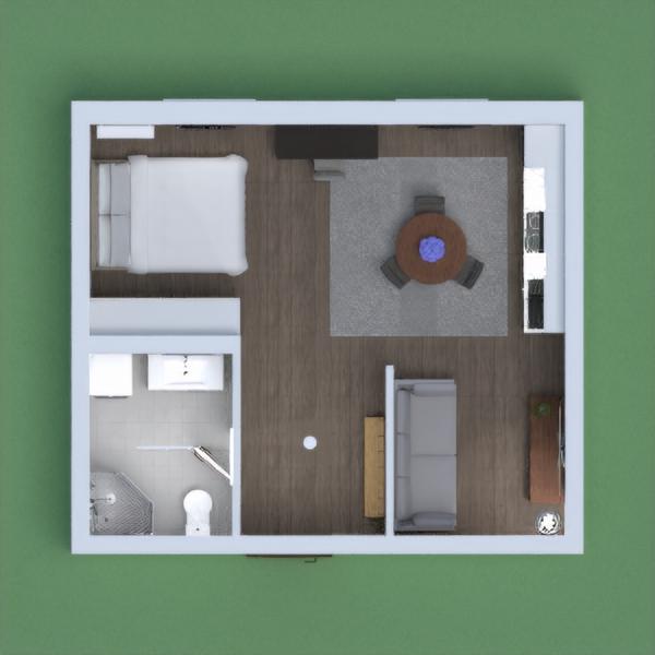 Small modern apartment