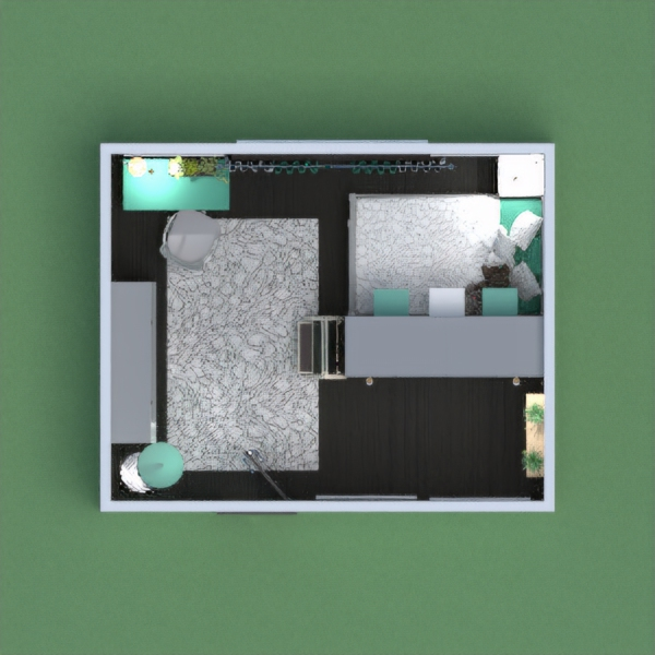 The perfect layout for a tween girl featuring abundant closet and storage space for clothes shoes and accessories. A well lit floor plan with a calming study area and the most peaceful private bed nook for additional privacy. Shelving around the room to display pictures and objects to visualize many memories over time. My niece wants me to design her room to look something like this!