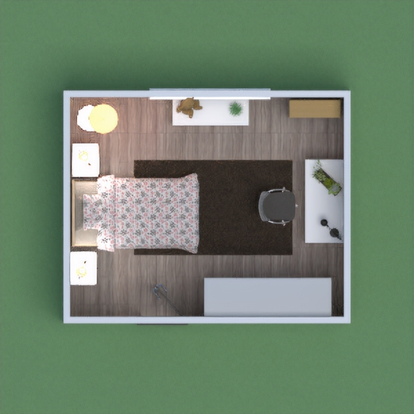 a modern childs room