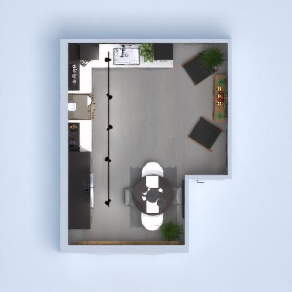 Kitchen New York loft Inspiration