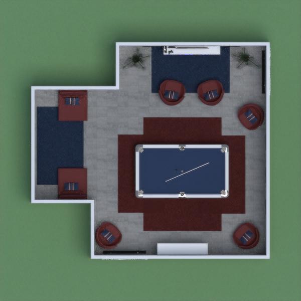 D's Blue Game Room