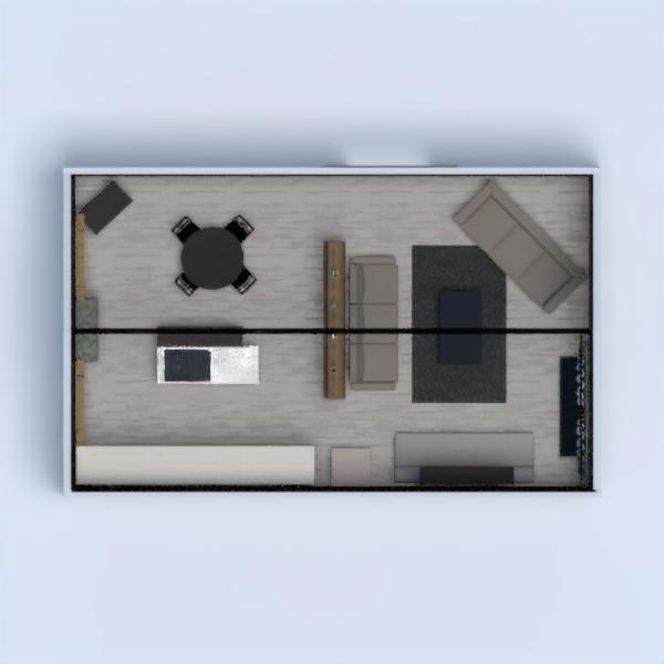 Es mi primer diseño en el que participo. Para cumplir con el desafío es una construcción de ladrillo y bigas de vigas de metal. En su interior la baldosa puede ser de concreto con decorado de madera o bien puede ser madera. El tapizado de los muebles de en la sala es de cuero; hay una balda de madera con estructura de metal entre la sala, el comedor de madera y la cocina de madera y concreto. Espero que sea de su agrado.