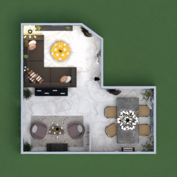 Here is the modern and elegant house. I have designed this with light walls and dark furniture as this is the combination of white, brown and black too. I hope you all like it as before. It was fun to do this....Also quite easier than the previous one X'D. Please comment below and share your opinions !!!