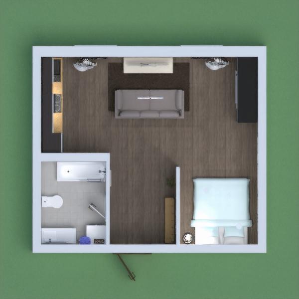es un mini apartamento para una pareja