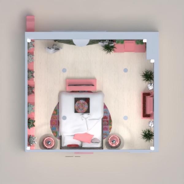La chambre d'une jeune femme.  Bonne saint Valentin!